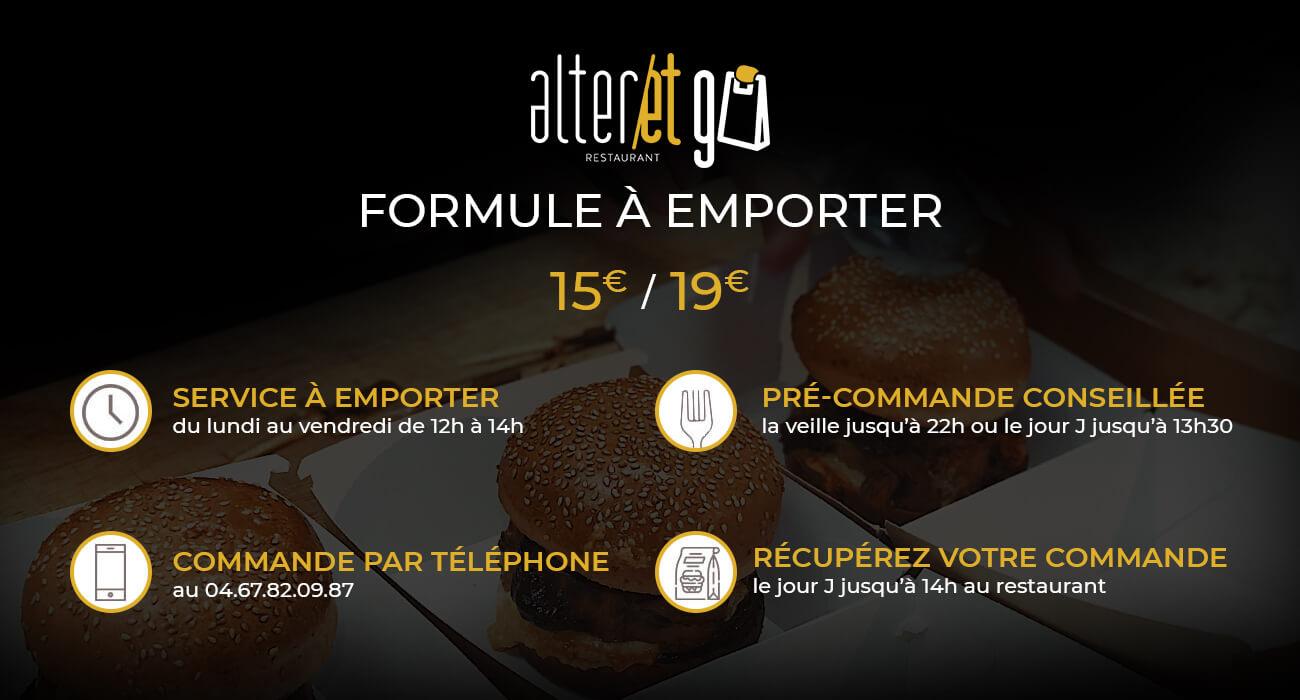 Restaurant Montpellier à emporter - Alter Ego