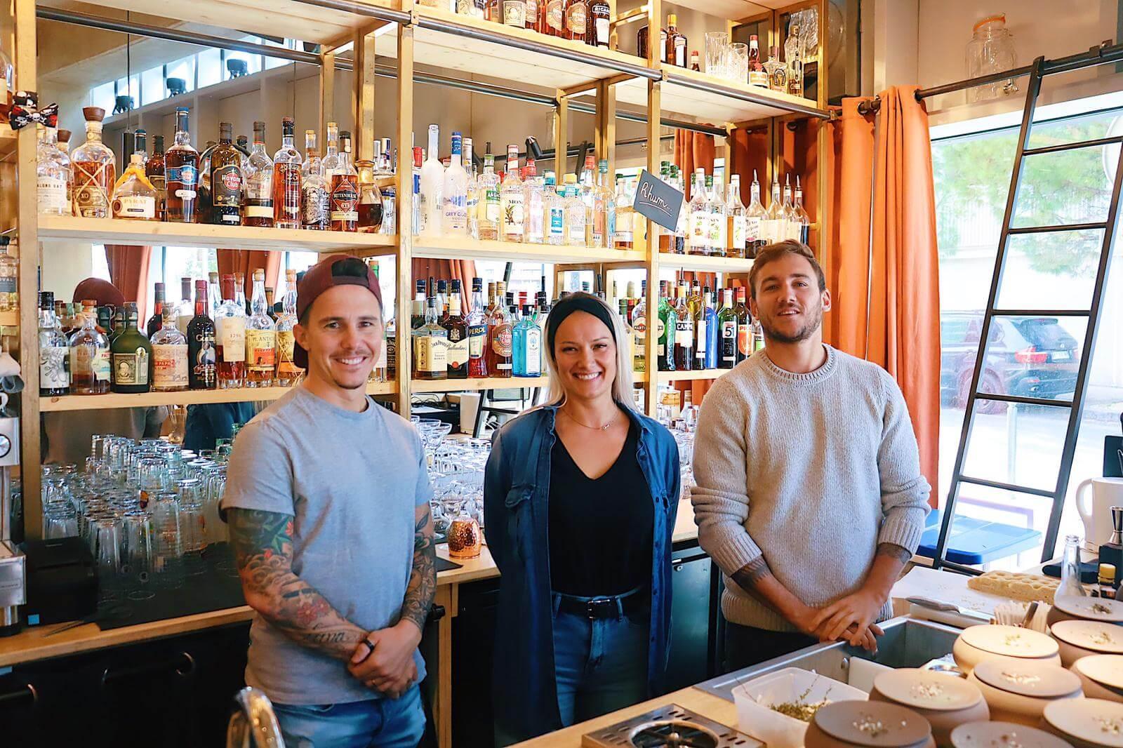 L'équipe du restaurant Alter Ego - Montpellier